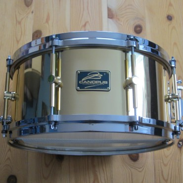 Canopus B1465 The Brass Snare Drum 14x6,5