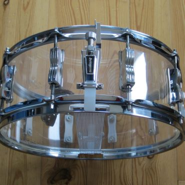 Ludwig LM401KP 14x5 Clear Vistalite