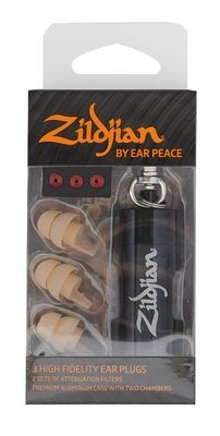 Zildjian by Earpeace HD Earplugs Dark