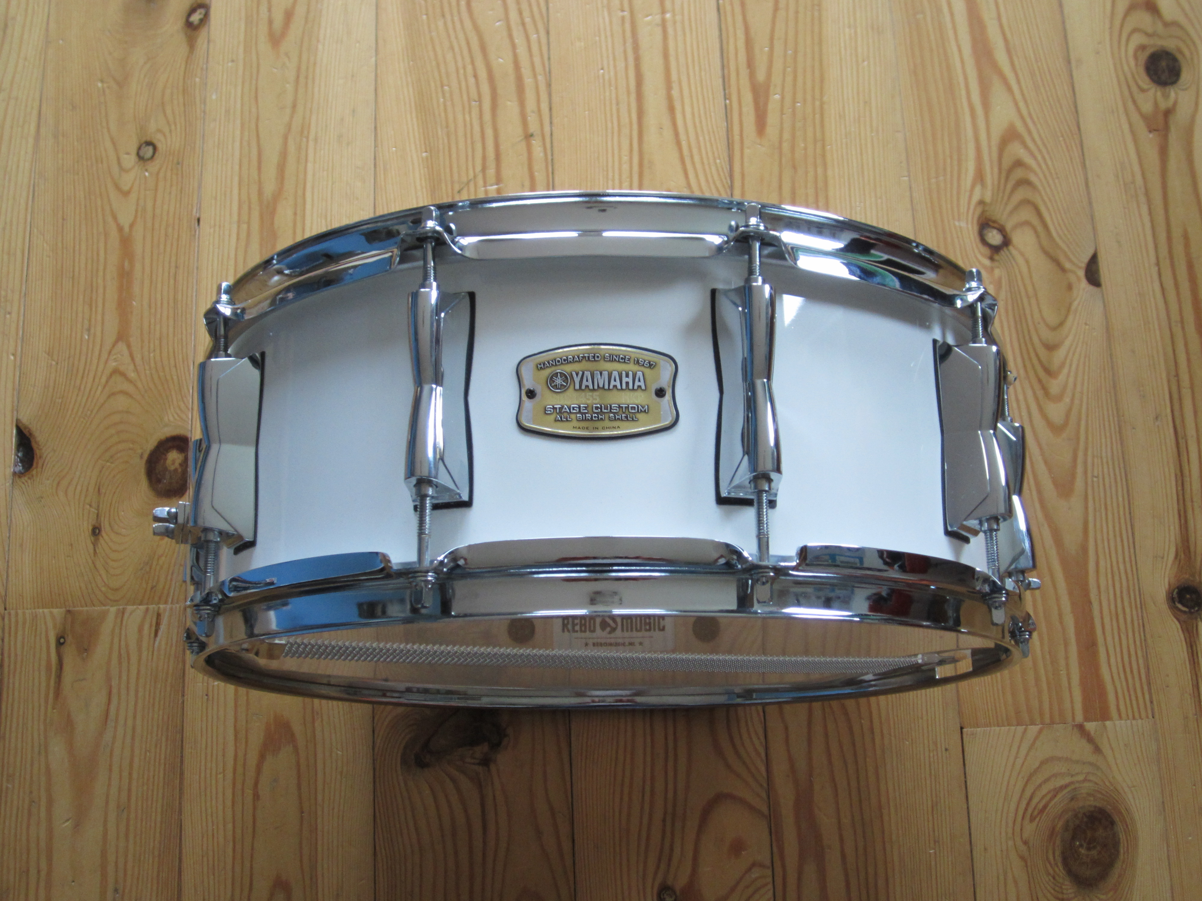 Yamaha SBS1455 Stage Custom Birch 14x5,5 Pure White