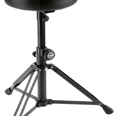 14015 Drummer's throne - black imitation leather