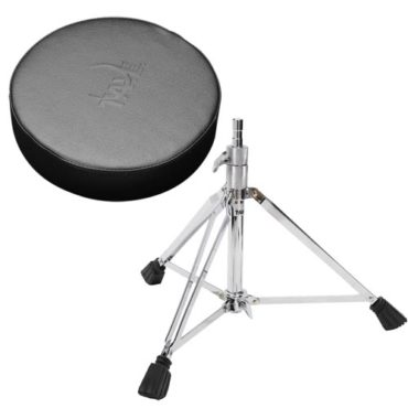 TAYE DT650 Drum throne w/spindle soft covered vinyl round seat
