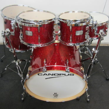 Canopus Yaiba II Groove kit Dark Red Sparkle Laquer
