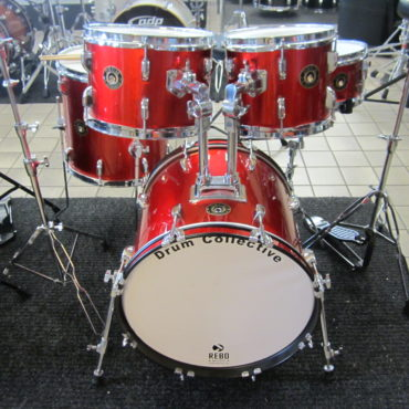 Drum Collective Maple kit Red
