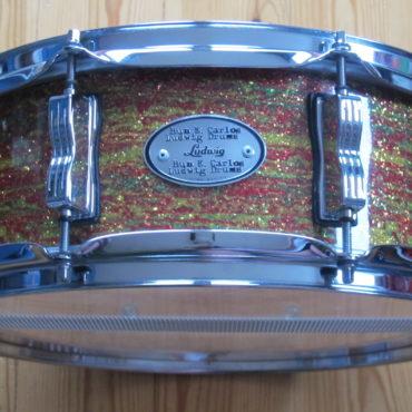 Ludwig Bun E Carlos Signature Snare 14x5 Citrus Mod Glass Glitter 99/100