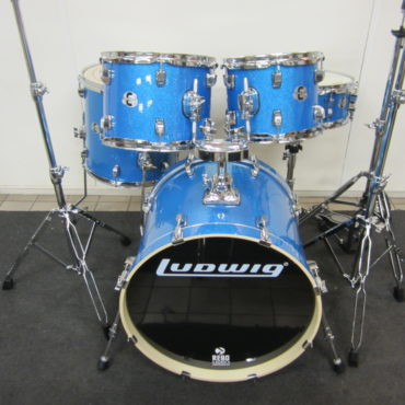 Ludwig LCEE20023 Element Evolution Blue Sparkle