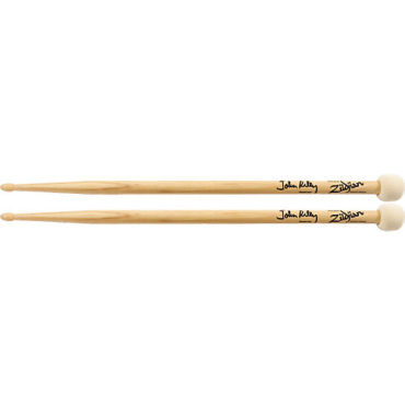Zildjian Double Stick, John Riley, wood tip/felt head, natural