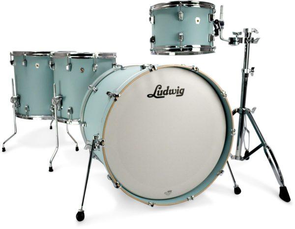 Ludwig Neusonic 4 Delig - Skyline Blue