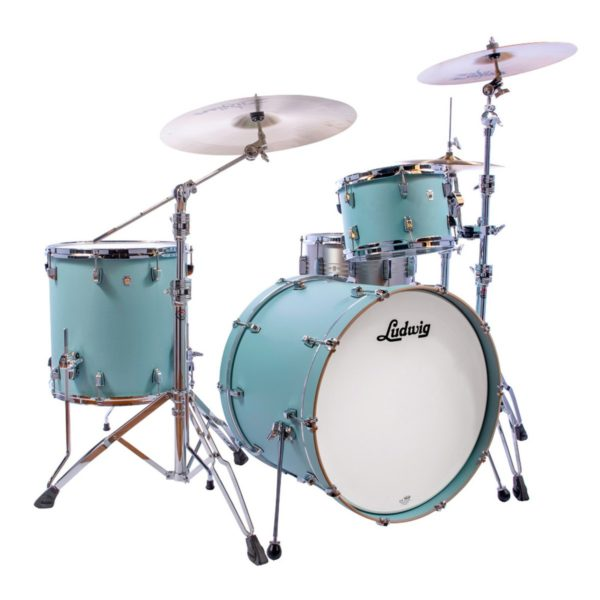 Ludwig L26223TX3R Neusonic 3-Delig Skyline Blue