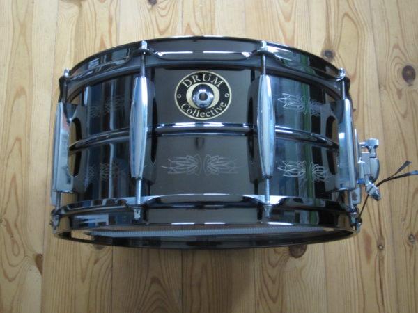 Drum Collective 14x6,5 Black Brass Prototype