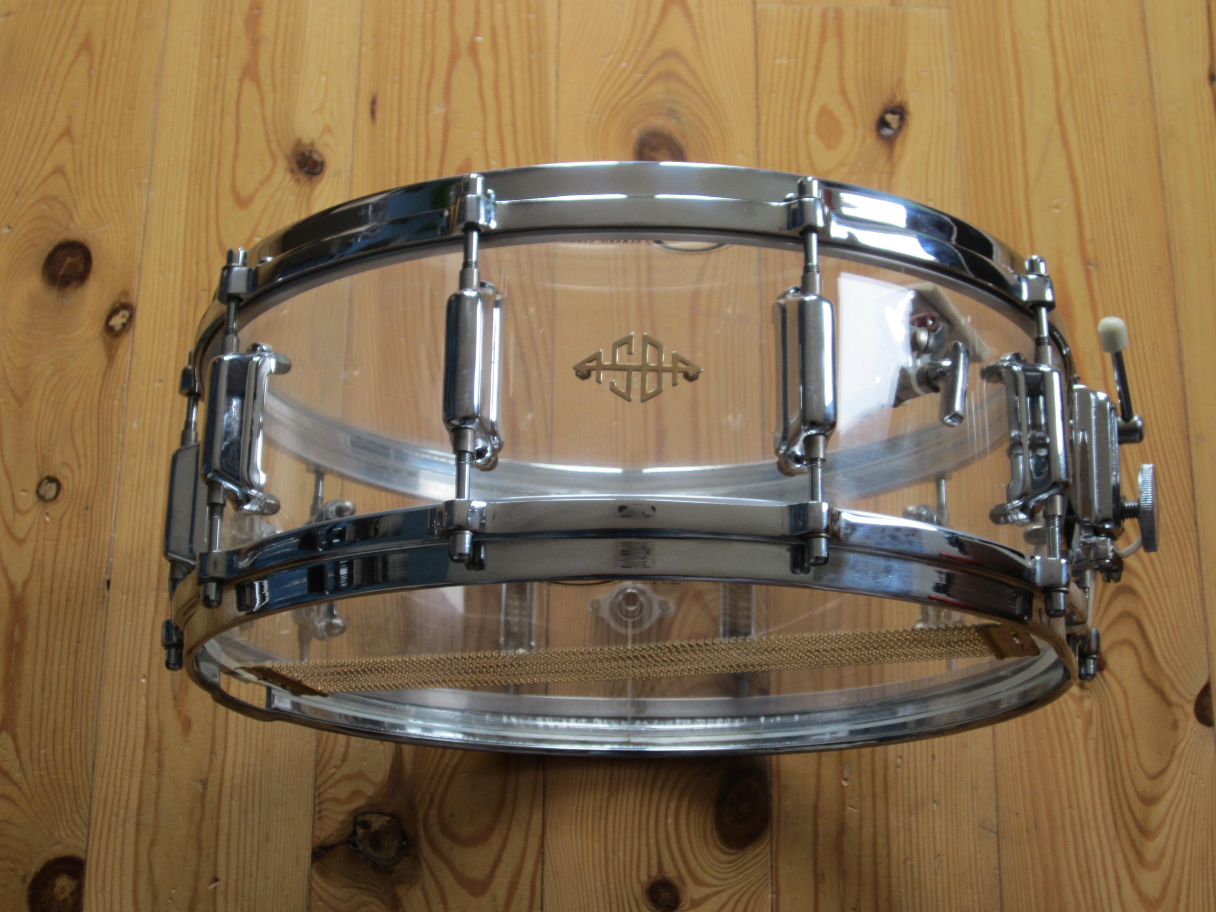 ASBA 743A 14x5 Acryl Design Sound snare drum