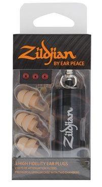 Zildjian by Earpeace HD Earplugs Dark
