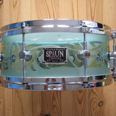 Spaun Acrylic 13x5,5 Coke Bottle Green Tribal