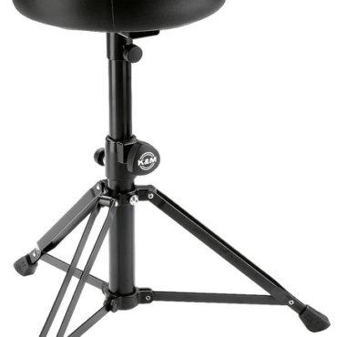 14015 Drummer's throne - black imitation leather