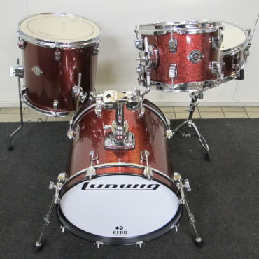 Ludwig Breakbeats Questlove Shellset Red Sparkle