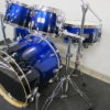 Canopus Yaiba II Groove kit Cobalt Blue Sparkle Fade Laquer Limited Edition
