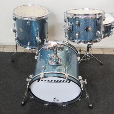 Ludwig Breakbeats Questlove Shellset Azure Blue Sparkle