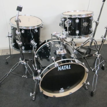 Natal Arcadia Traditional Jazz Transparent Black Laquer