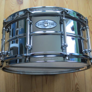 Pearl Sensitone 14x6,5 Beaded Steel Tubelugs