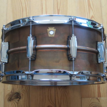 Ludwig LC663 Copperphonic Raw Patina 14x6,5