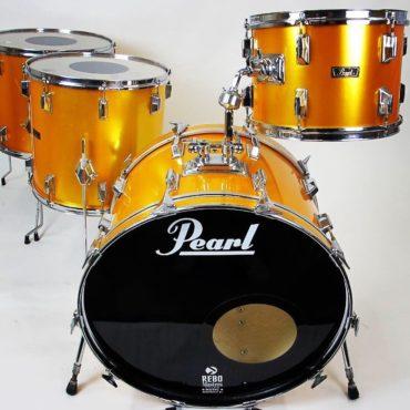 Pearl Wood Fiberglass Gold Satin