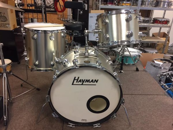 Hayman Vibrasonic Big Sound silver