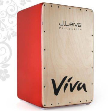 J. Leiva Viva Cajon Red / Clear