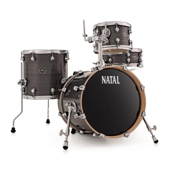 "Natal Arcadia Birch 16"" T6 Compact Kit Grey Strata"