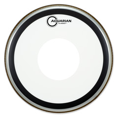 "Aquarian 14"" Hi-Energy snare head clear dot"