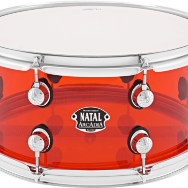 Natal Arcadia Acrylic 14x6,5 Transparent Red