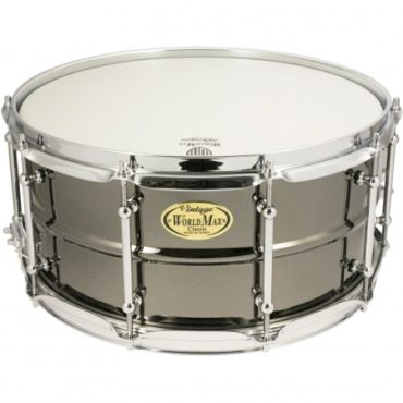 "BK-6514SH 1.3mm Beaded Brass, Black Nickel 14x6,5"" 2.3mm"