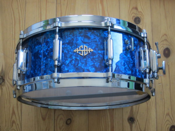 ASBA 743B Diamond Blue Pearl 14x5