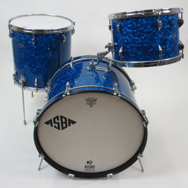ASBA Super Baby 13/15/20 Diamond Blue Pearl 1963