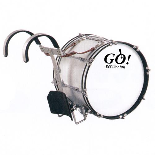 GO Percussion GO-JBMB2012 Marching Bassdrum