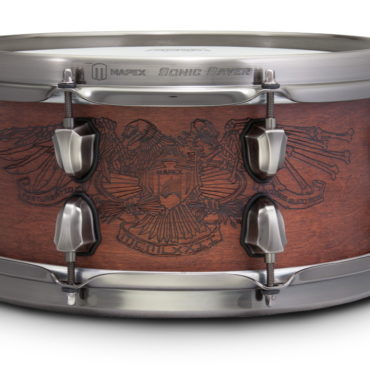 MAPEX BLACK PANTHER Snare, 12x5,5, Warbird, Dark Walnut Satin