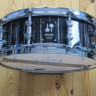 Sonor ProLite PL1405 Vintage Maple Shell Ebony White Stripes Jojo Mayer