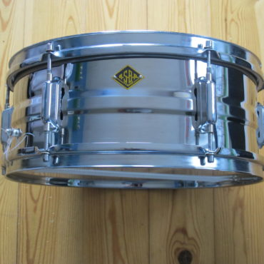 ASBA 14x6,5 Stainless Steel Snare 6 Lugs