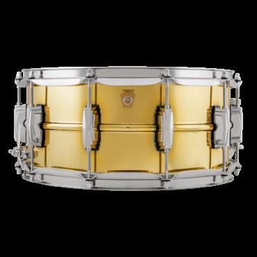 """Ludwig LB403 Super Series """"Super Brass"""" Snaredrum"""