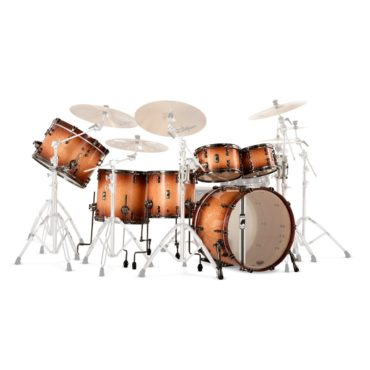 Mapex Black Panther Design Lab Versatus Peach Burl Burst