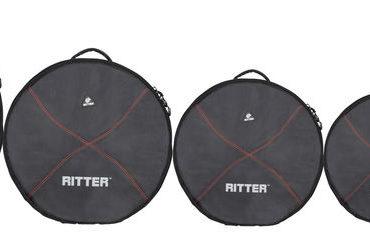 Ritter- RDP2-06/BRD Drumbag Deluxe Kit #6 Black-Red Performance