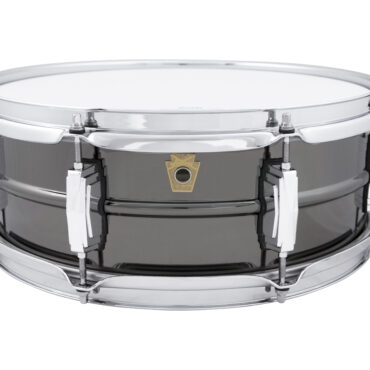 LUDWIG LB414 Black Beauty Smooth Shell 8x Imperial lugs 14x5 Snaredrum