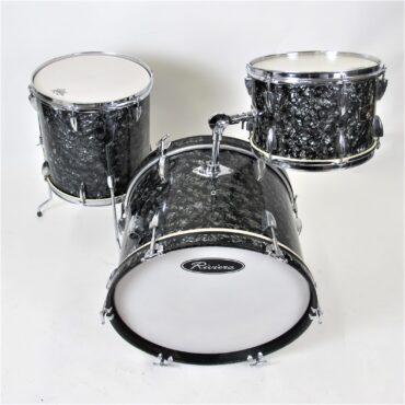Riviera Vintage Drumkit Diamond Black