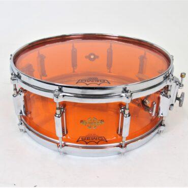 ASBA 743A Altuglas Orange 14x5 Acryl Design Sound Snare Drum